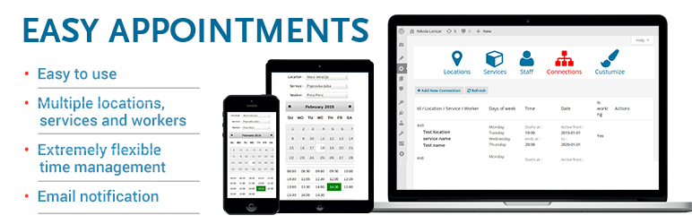 Easy Appointments - WordPress Booking Plugin